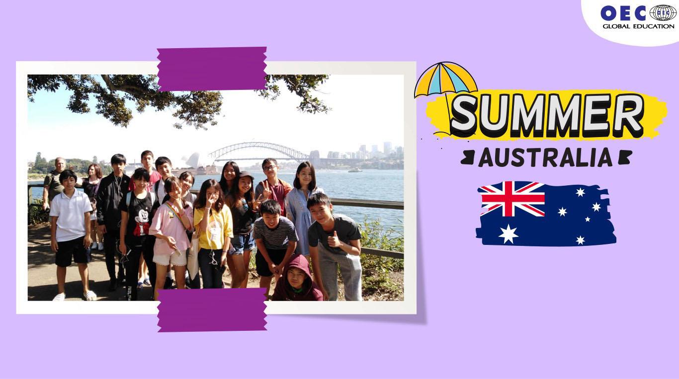 ซัมเมอร์ออสเตรเลีย ซัมเมอร์ต่างประเทศ