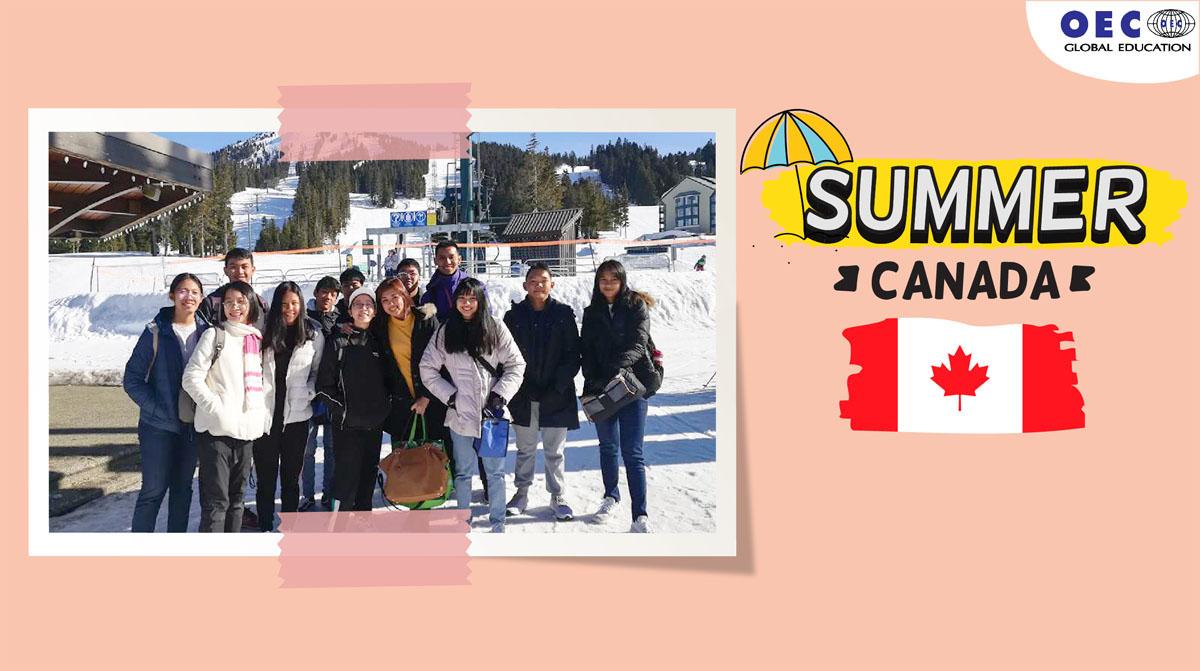 ซัมเมอร์ต่างประเทศ แคนาดา