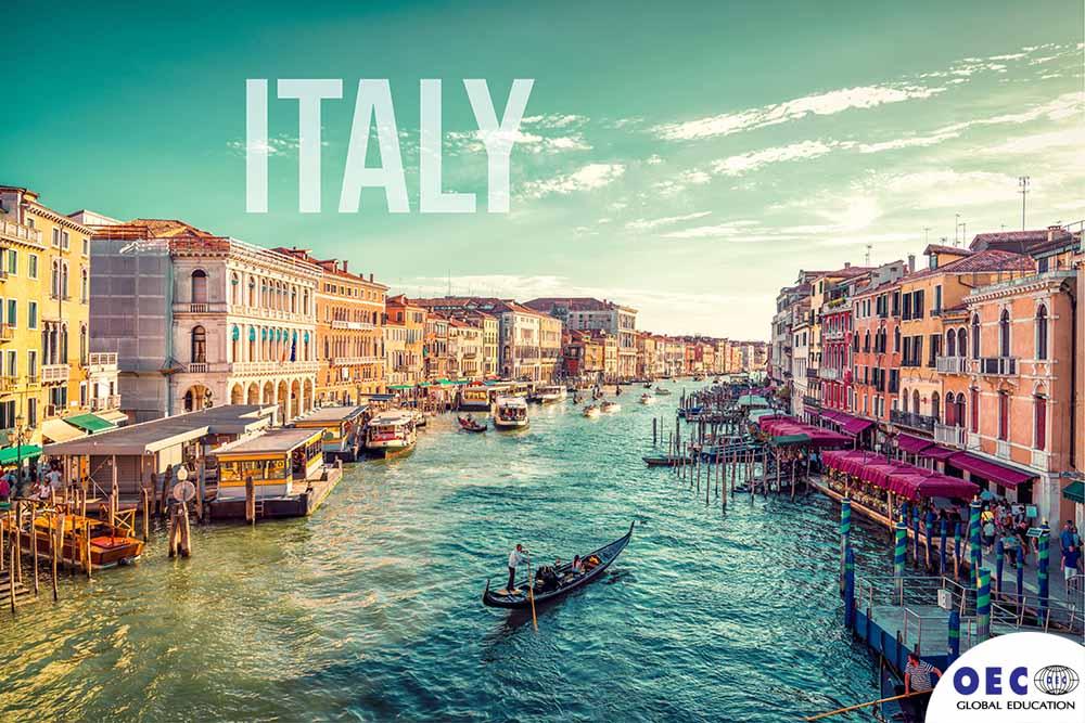 ข้อมุลอิตาลี  ภูมิศาสตร์ของอิตาลี