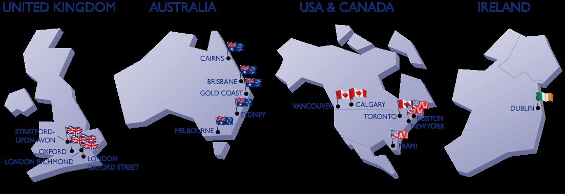เรียนภาษาที่แวนคูเวอร์ โตรอนโต แคนาดา