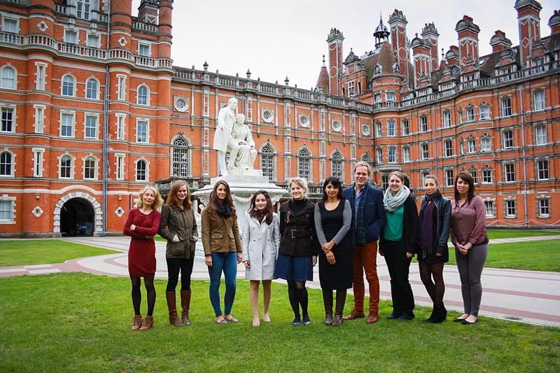 มหาวิทยาลัย รอยัล ฮาโลเวย์ ลอนดอน Royal Holloway University London ปริญญาโท  ปริญญาตรี ประเทศอังกฤษ