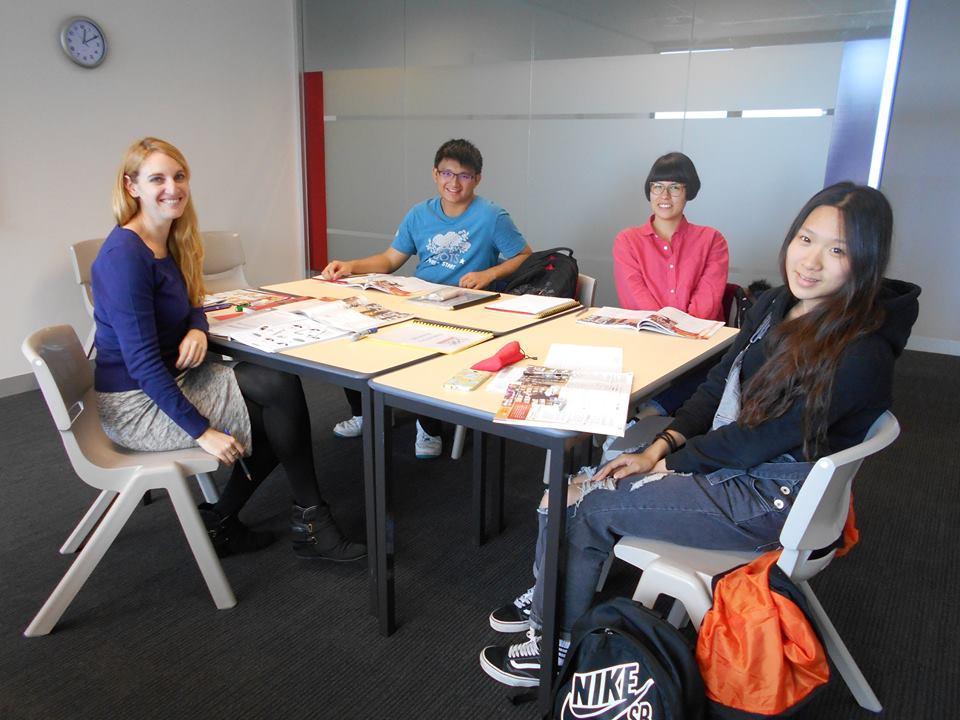 เรียนภาษาที่แอดิเลด Study in Adelaide