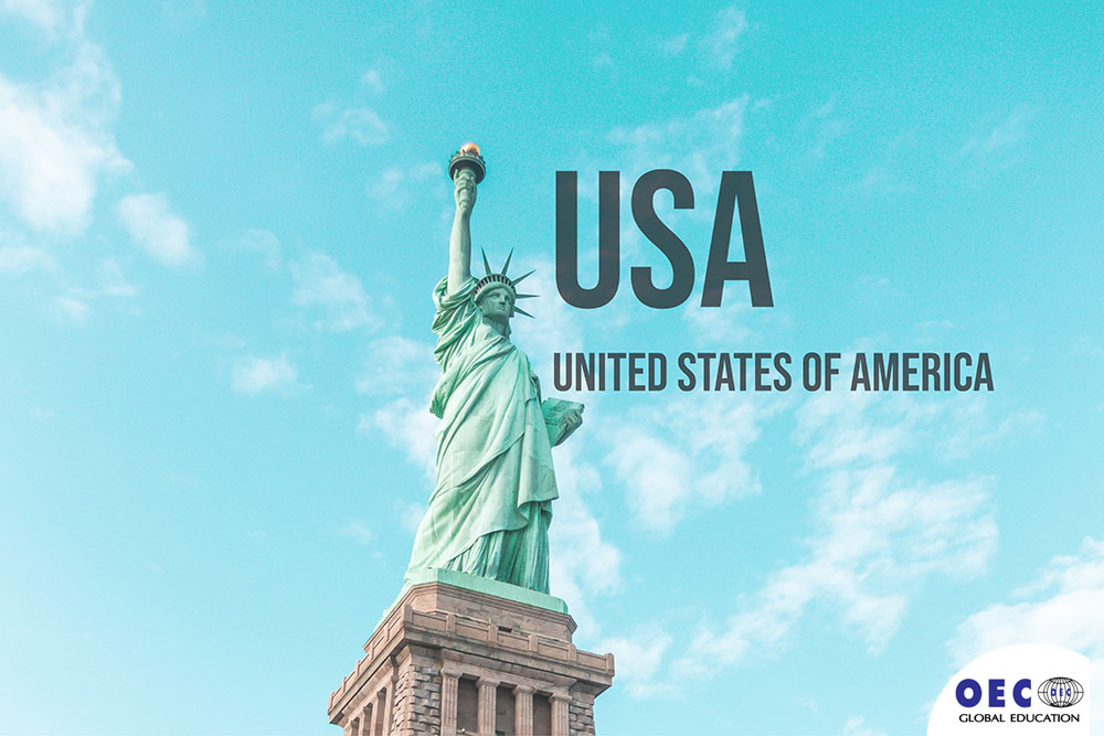 ข้อมูลอเมริกา เรียนต่ออเมริกา