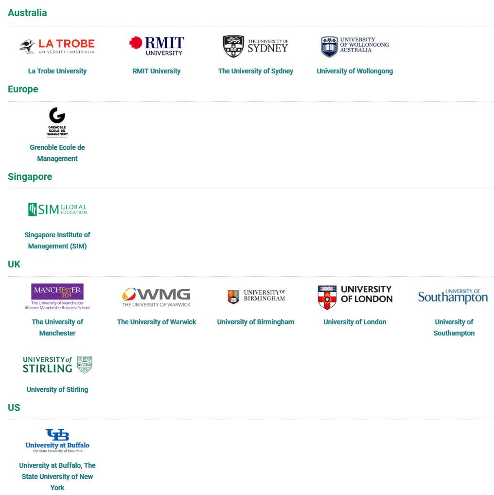 มหาวิทยาลัยขนาดใหญ๋ของ อังกฤษ อเมริกา ออสเตรเลีย SIM University Singapore