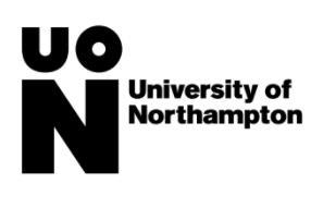 มหาวิทยาลัยนอร์ธแธมตัน  University of Northampton